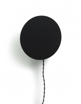 WALL LAMP BLACK SCUDO