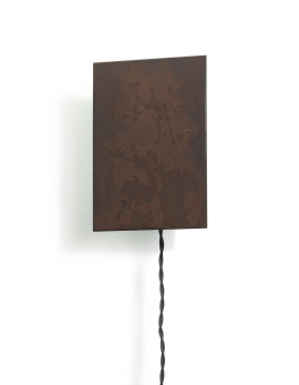 WALL LAMP SCUDO RUST 15X8 H21