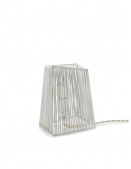 WALL / TABLE LAMP OMBRE WHITE 17X12,5 H20