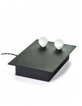 TABLE / WALL LAMP KVG NR. 01 - 02 2 BULBS 30X21 H7