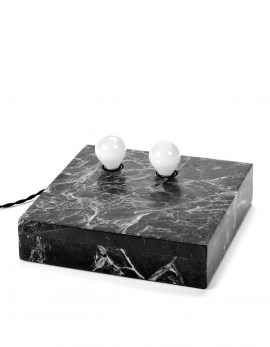 TABLE/WALL LAMP NR.02-03 L MARBLE BLACK ESSENTIALS