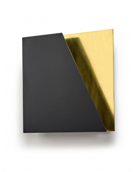 WALL LAMP NR. 05 - 01 BLACK - BRASS ESSENTIALS