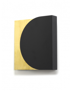 WALL LAMP NR. 05 - 02 BLACK - BRASS ESSENTIALS