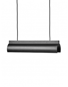 HANGLAMP NR. 13 - 02 ZWART/MESSING ESSENTIALS