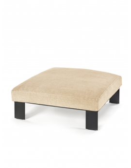 OTTOMAN INCL INDOOR CUSHION APRICOT