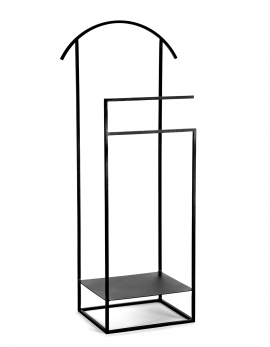 CLOTHES RACK BLACK DISPLAY