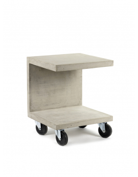 SIDE TABLE C L44 x W44 x H51 CM CONCRETE