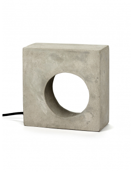 TABLE LAMP FLASTAIRE L21,5 x W9,5 x H21,5 CM CONCRETE