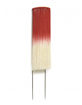 WALL LAMP EDO SCARLET/CREAM