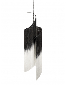PENDANT LAMP REY 1  BLACK/WHITE