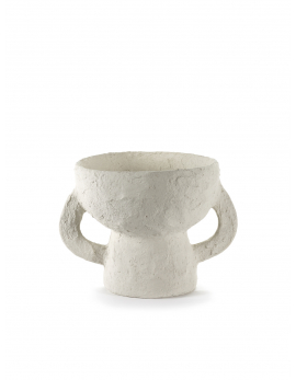 VASE S WHITE EARTH