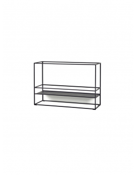 SHELF S DISPLAY BLACK