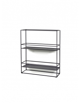 SHELF M DISPLAY BLACK