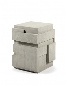 TABLE D'APPOINT BETON