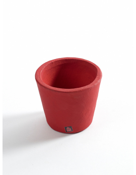 POT CONTAINER XS D7 H78 BURGUNDY