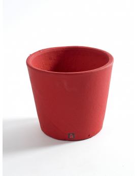 POT CONTAINER SMALL D13 H11 BURGUNDY