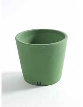 POT CONTAINER SMALL D13 H11 FORESTGREEN