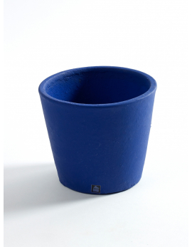 POT CONTAINER SMALL D13 H11 NAVY BLUE