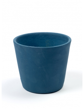 POT CONTAINER SMALL D13 H11 AZURE