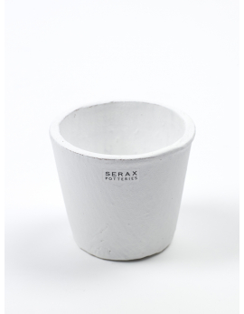 POT CONTAINER XS D8 H7 WHITE