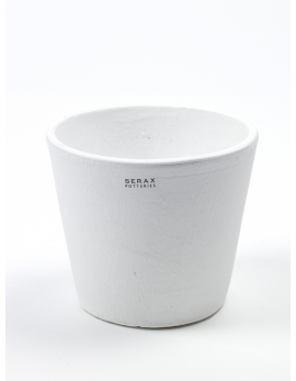 POT CONTAINER SMALL D13 H11 WHITE