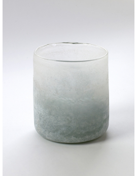 CYLINDER VASE M ANTIC GREY