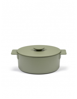 POT L CAMO GREEN SURFACE