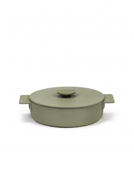 BRAADPAN L CAMO GREEN SURFACE
