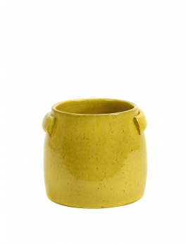 FLOWER POT S YELLOW JARS