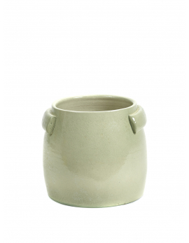 FLOWER POT S GREEN JARS