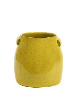 FLOWER POT M YELLOW JARS
