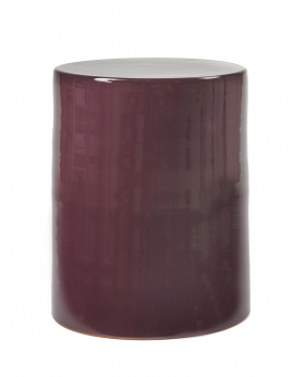 SIDE TABLE PURPLE D37 H46
