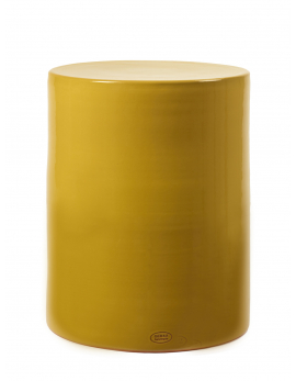 SIDE TABLE OCHER D37 H46