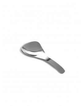 SPOON TRIANGLE S POLISHED STEEL