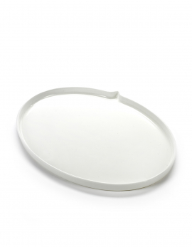 TEXT BALLOON PLATE OVAL MEDIUM 22X16,5