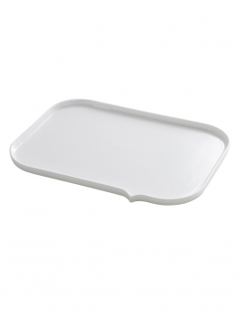 TEXT BALLOON PLATE RECTANGULAR 30X21
