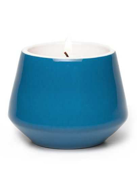 TEA LIGHT HOLDER BLUE JANSEN + CO