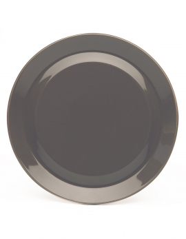 PLATE ANTHRACITE MY BOWLS & PLATES