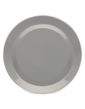 PLATE LIGHT GREY MY BOWLS & PLATES