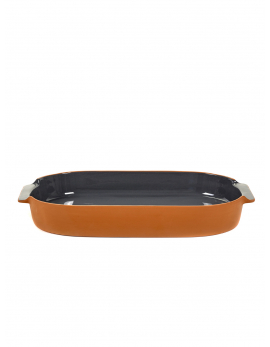 BAKEWARE OVAL LARGE ANTHRACITE H6 X 45 X 26