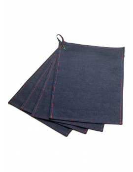 DENIM PLACEMATS SET/4