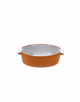 BAKEWARE ROUND SMALL LIGHT GREY  H6 X 23 X D21,5