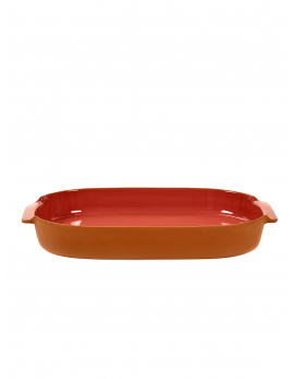BAKEWARE OVAL LARGE PINK H6 X 45 X 26