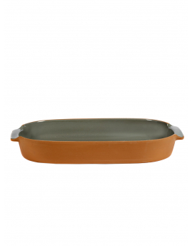 BAKEWARE OVAL LARGE GREY H6 X 45 X 26