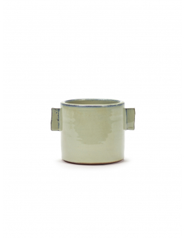 FLOWER POT M GREY