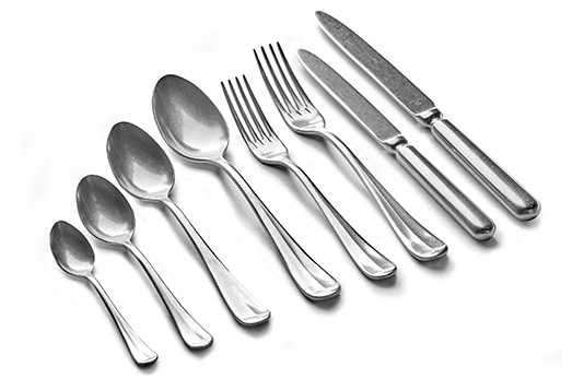Surface cutlery
