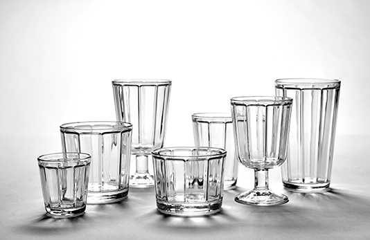Surface glassware