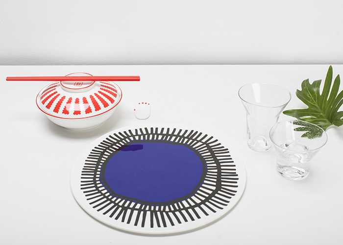 Table Nomade tableware