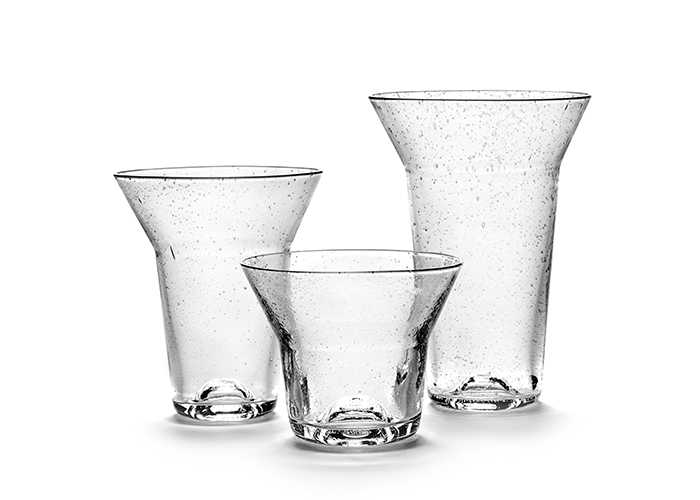 Table Nomade glassware
